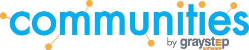Communities Logo by Gray Step Software